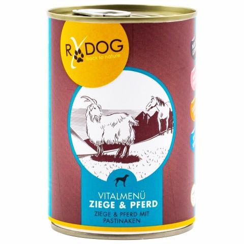 RyDog Ziege&Pferd 400g (6 Piece)